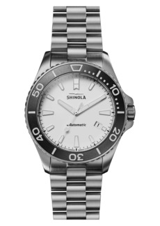 Shinola The Ice Monster Automatic Bracelet Watch, 43mm