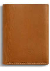 Shinola Utility Folded Leather Card Holder