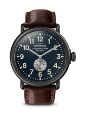 Shinola Stainless Steel Runwell Strap Chronograph Watch