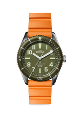 Shinola The Duck 2-Piece Stainless Steel Diving Watch Interchangeable Strap Gift Set