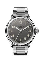 Shinola The Runwell Automatic Stainless Steel Bracelet Watch