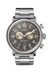 Shinola The Runwell Chronograph Stainless Steel Bracelet Watch