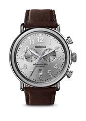 Shinola The Runwell Two-Eye Chronograph Watch