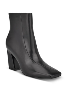 Sigerson Morrison Women's Ervin Square Toe High Heel Booties