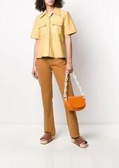 Simon Miller croc-effect shoulder bag