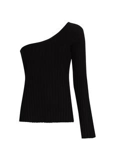 Simon Miller Devado One-Shoulder Knit Top