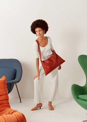 Simon Miller Large Puffin Leather Shoulder Bag
