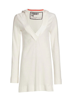 Simon Miller Matu Hooded Terry Dress
