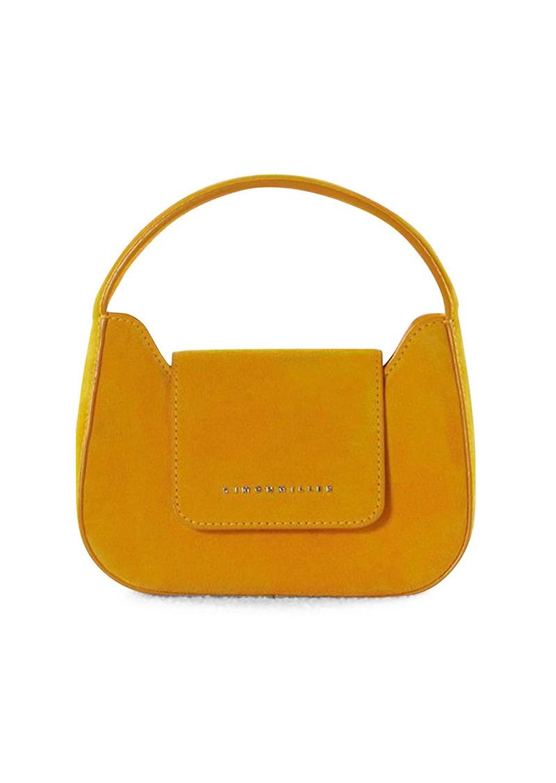 Simon Miller Mini Retro Suede Shoulder Bag