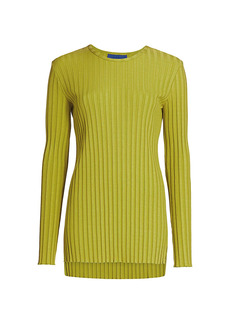Simon Miller Oz Crewneck Ribbed Tunic