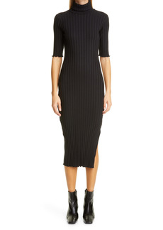 RIB by Simon Miller Novo Turtleneck Midi Dress