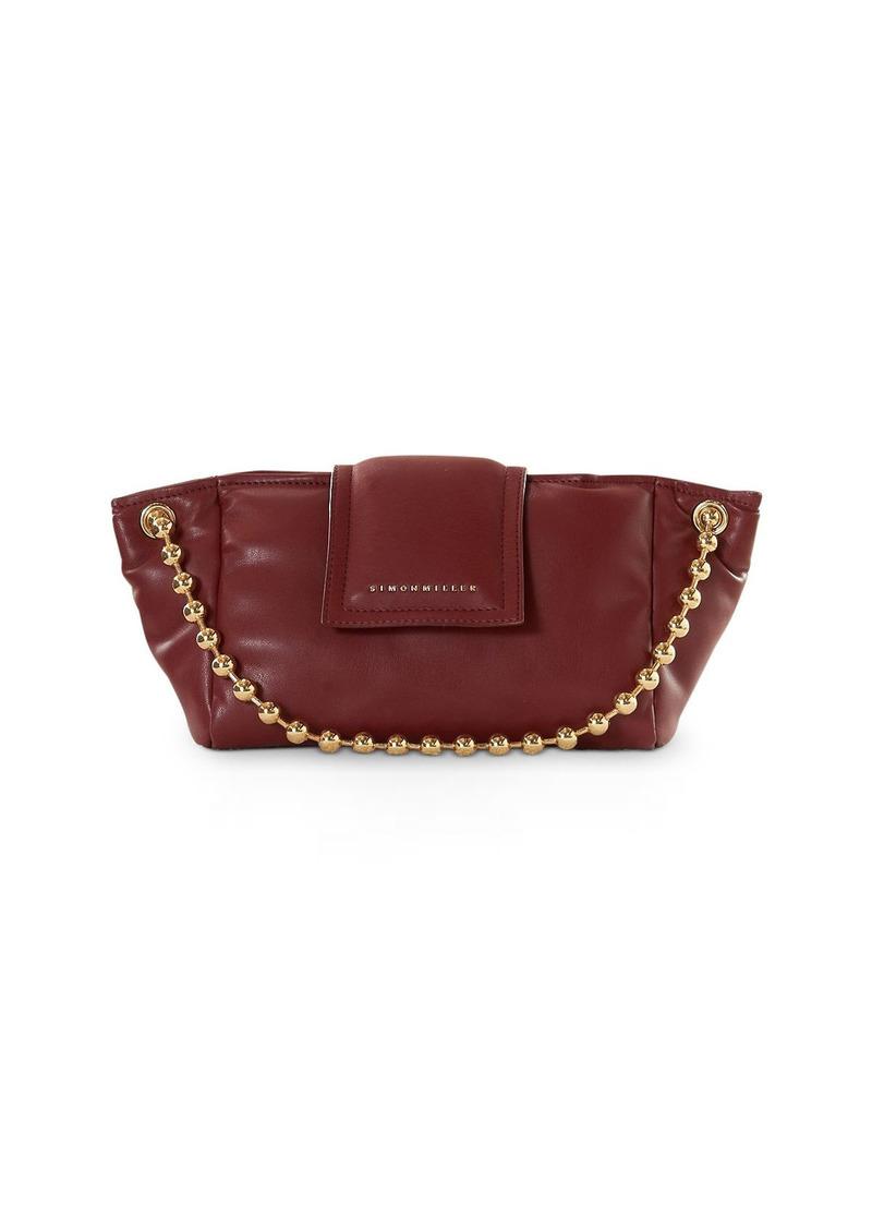 SIMON MILLER Dumpling Faux Leather Shoulder Bag