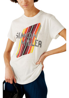 Simon Miller Mesa Logo Cotton Graphic Tee