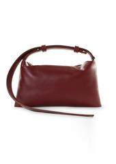 SIMON MILLER Mini Puffin Leather Shoulder Bag