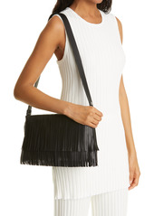 Simon Miller Puffin Fringe Convertible Faux Leather Bag