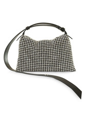 SIMON MILLER Puffin Mini Crystal Shoulder Bag