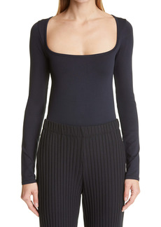 Simon Miller Rohe Square Neck Long Sleeve Bodysuit