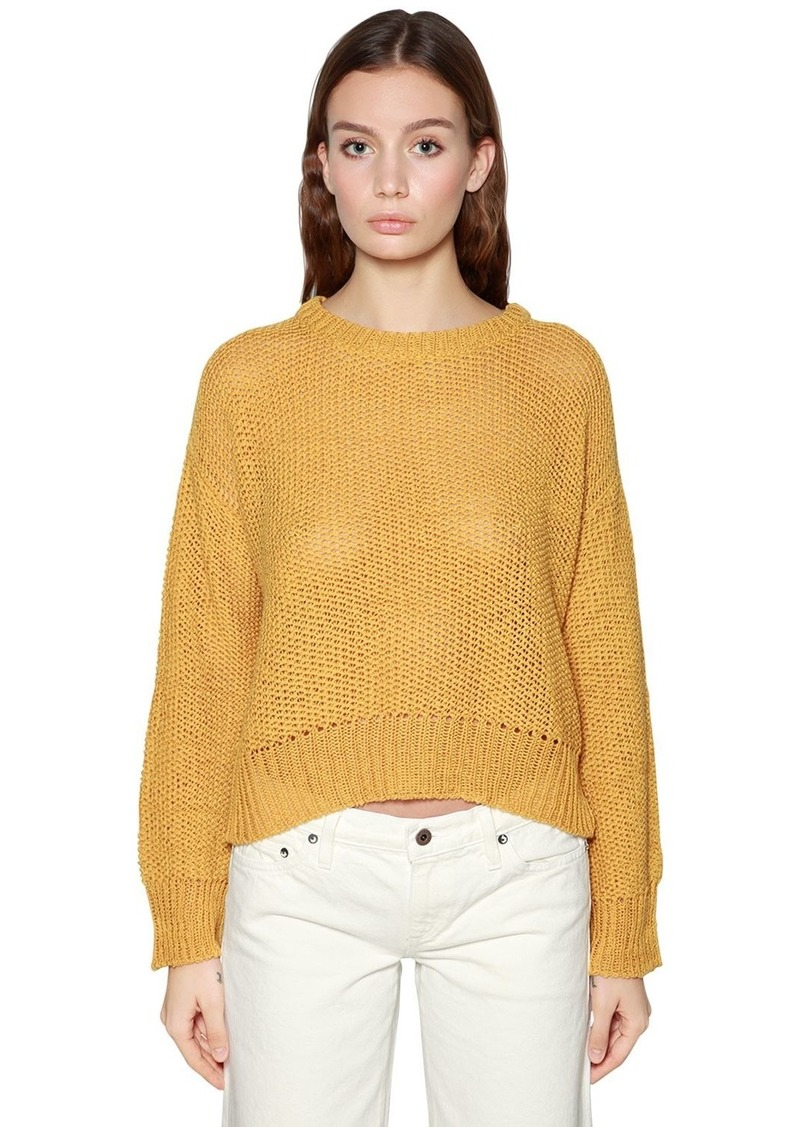 Simon Miller Washed Wool Knit Sweater