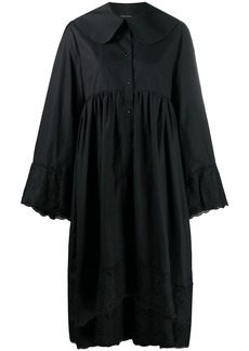 Simone Rocha asymmetric hem shirt dress
