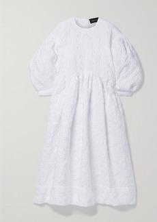 Simone Rocha Cloque Midi Dress