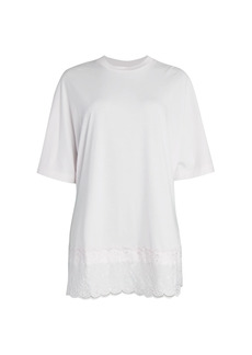 Simone Rocha Lace Hem T-Shirt