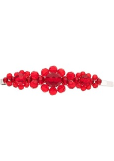 Simone Rocha x Browns 50 large floral bead embellished hair clip