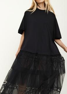Simone Rocha Tutu T-Shirt Dress