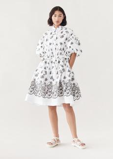 Simone Rocha Twisted Hip Shirt Dress