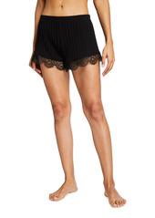 skin Betsey Ribbed Pima Cotton Shorts