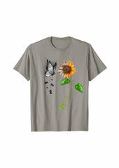 Butterfly Sunflower Skin Cancer Awareness T-Shirt