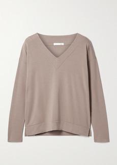 skin Faye Modal-blend Jersey Top