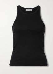 skin Ivy Ribbed Stretch-pima Cotton Jersey Tank