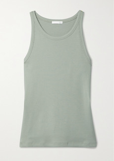 skin Ivy Ribbed Stretch-pima Cotton Jersey Tank