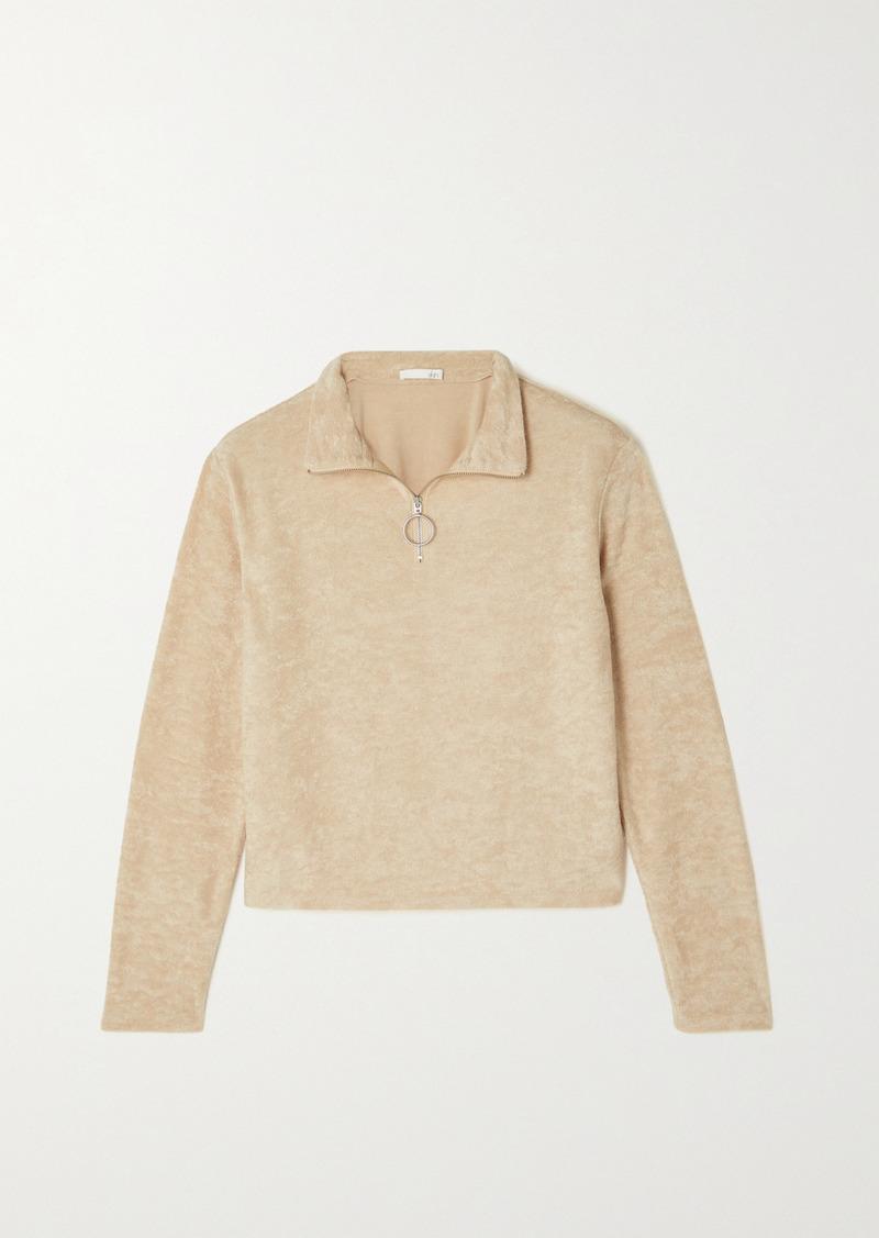 skin Mahlia Cotton-blend Terry Sweater
