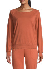 skin Marika Raglan Pullover Sweatshirt