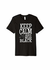 skin Melanoma Awareness Keep Clam Ribbon Shirt Gift Premium T-Shirt