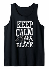 skin Melanoma Awareness Keep Clam Ribbon Shirt Gift Tank Top