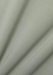 skin Net Sustain Calliope Cropped Stretch Organic Pima Cotton-jersey Tank