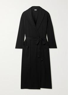 skin Net Sustain Carina Organic Pima Cotton-jersey Robe
