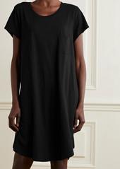 skin Net Sustain Carissa Melange Organic Pima Cotton-jersey Nightdress