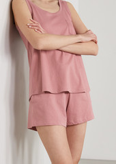 skin Net Sustain Casey Organic Pima Cotton-jersey Shorts