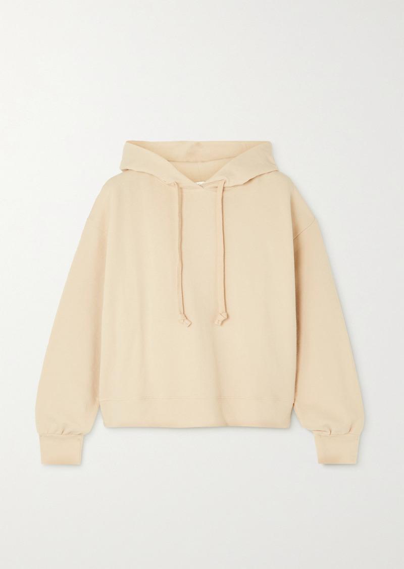 skin Net Sustain Elsie Stretch Organic Cotton-jersey Hoodie