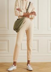 skin Net Sustain Emilie Stretch Organic Cotton-jersey Track Pants