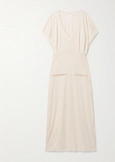 skin Net Sustain Farida Organic Cotton-blend Jersey Nightdress