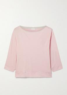 skin Net Sustain Gavrielle Organic Pima Cotton-jersey Top