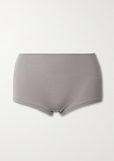 skin Net Sustain Gayle Stretch Organic Pima Cotton-jersey Briefs
