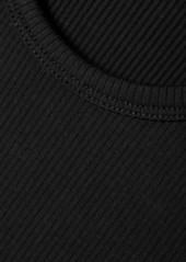 skin Net Sustain Ivy Ribbed Stretch-organic Pima Cotton Jersey Tank