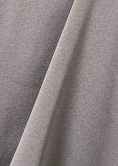 skin Net Sustain Topaz Stretch-organic Silk Satin Tank
