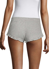 skin Ribbed Cotton Shorts