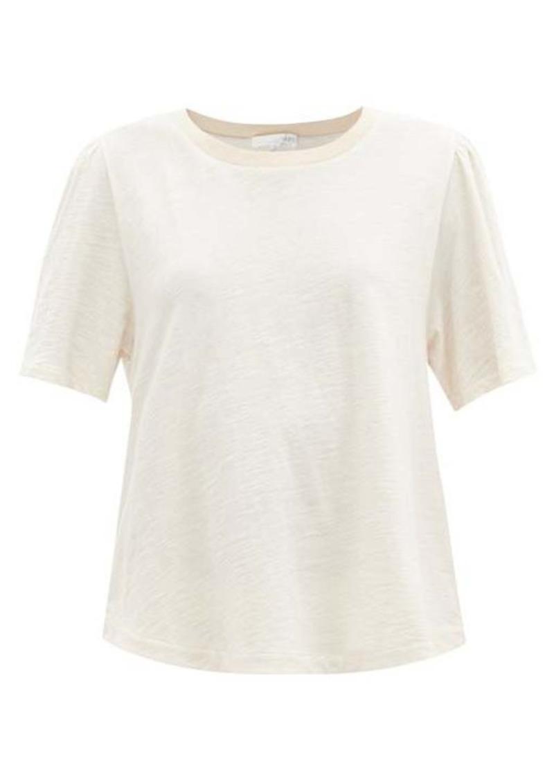Skin Frances melange slubbed-jersey T-shirt